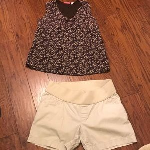 Liz Lange Maternity set from Target